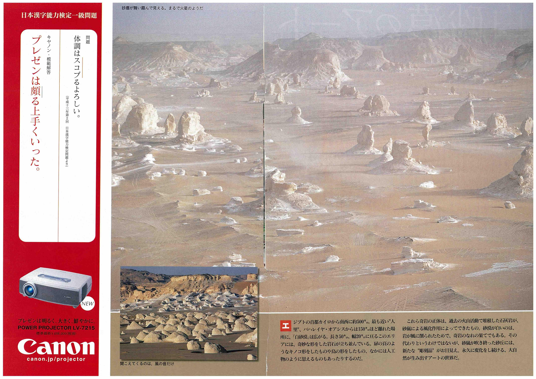 白砂漠(「週刊新潮」)(2)